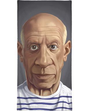 Pablo Picasso Als Duschvorhang Von Rob Snow