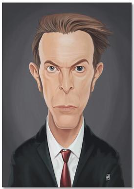 David Bowie notitieblok
