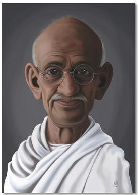 Mahatma Gandhi Notepad