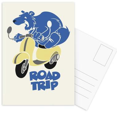 Road Trip Postcard Set