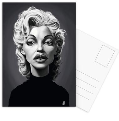Marylin Monroe Postcard Set