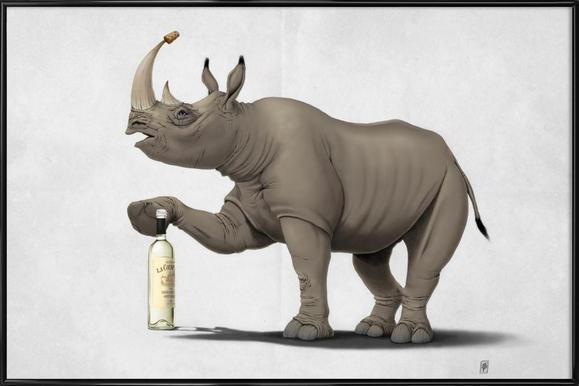 Buy Framed Rhino Posters Online | JUNIQE UK