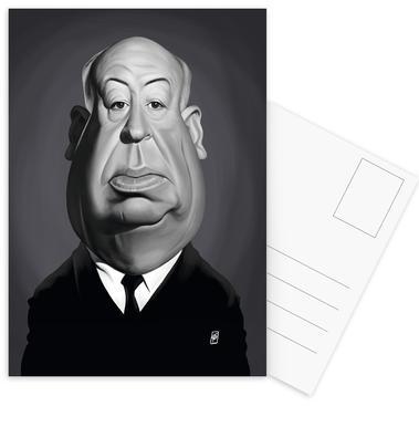 Alfred Hitchcock ansichtkaartenset