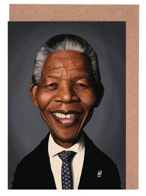 Nelson Mandela Set de cartes de vœux