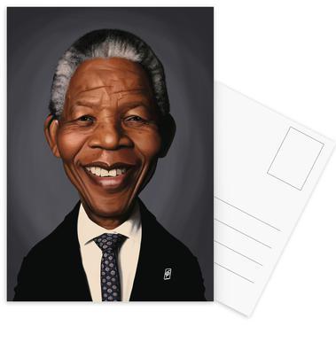 Nelson Mandela Set de cartes postales