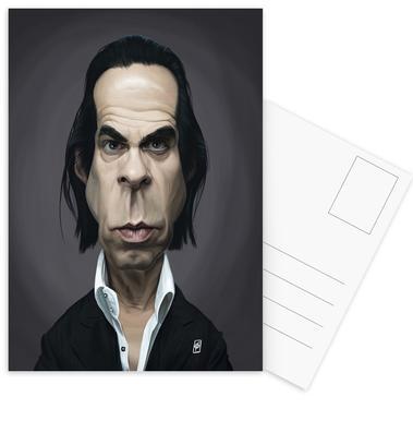 Nick Cave ansichtkaartenset