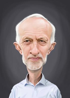 Jeremy Corbyn Canvas Print