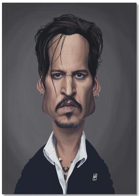 Johnny Depp Notitieboekje