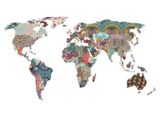 Buy world map canvas prints and art online juniqe uk louis armstrong told us so bianca green canvas print gumiabroncs Gallery