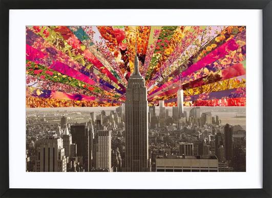 Blooming NY ingelijste print