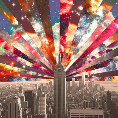 Superstar New York -Acrylglasbild