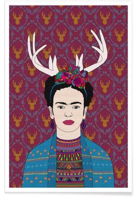 Deer Frida affiche