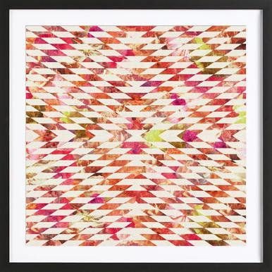 Floral Explosion ingelijste print