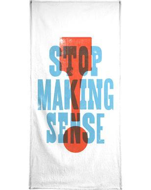 STOP MAKING SENSE handdoek
