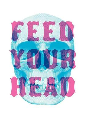 FEED YOUR HEAD Impression sur toile