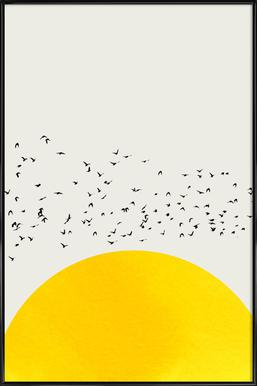 A Thousand Birds affiche encadrée