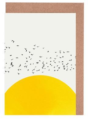A Thousand Birds Set de cartes de vœux
