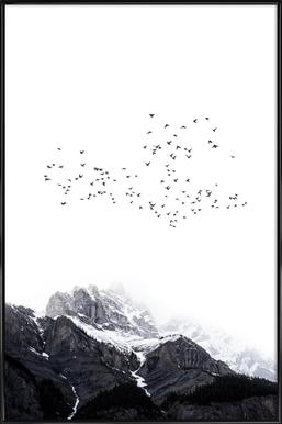 The Mountains Framed Poster