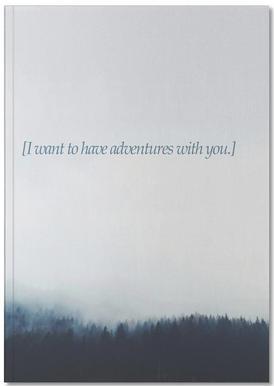 Adventures With You Carnet de note