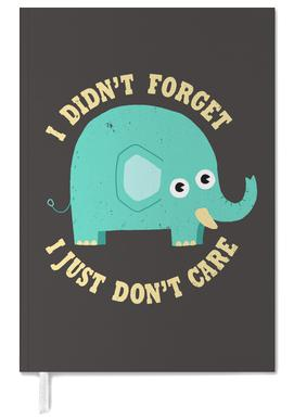An Elephant Never Cares Personal Planner