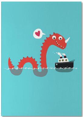 Love on the Open Seas notitieblok