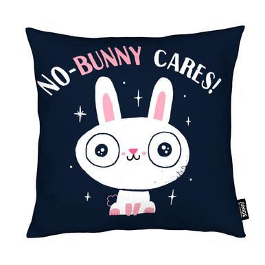 No-Bunny Cares Kussen