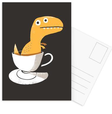 Tea Rex Postcard Set