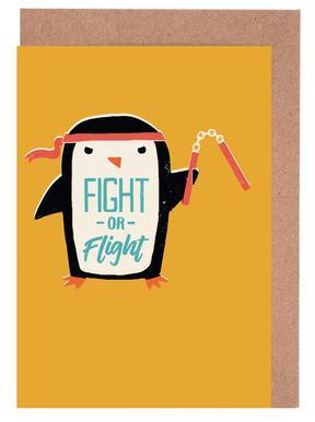 Fight Or Flight Set de cartes de vœux