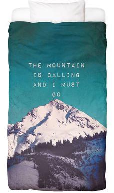 Mountain Is Calling Linge de lit