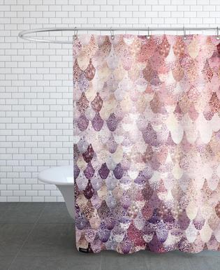 Mermaid Rosegold Shower Curtain