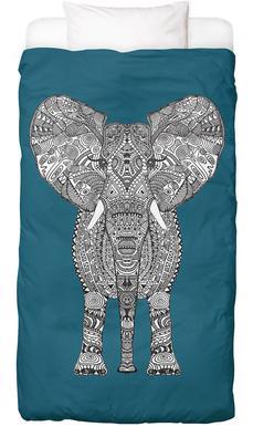 Aztec Elephant Linge de lit