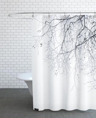 Black Branches Douchegordijn