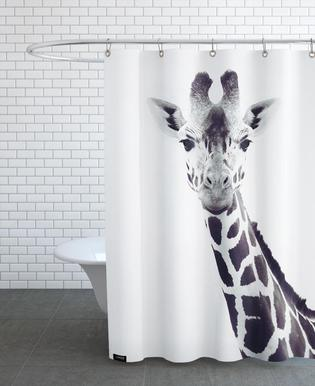 Giraffe Duschvorhang