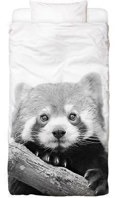 Red Panda Linge de lit enfant