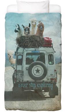 Never Stop Exploring II housse de couette enfant