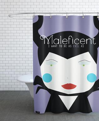 Little Maleficient Shower Curtain