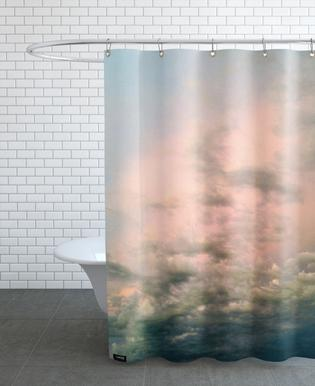 Pink Epic Shower Curtain