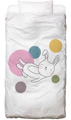 Space Rabbits Neo Sängkläder för barn