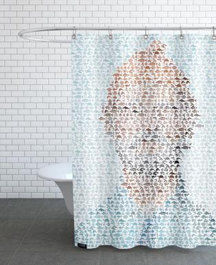 The Aquatic Steve Zissou rideau de douche