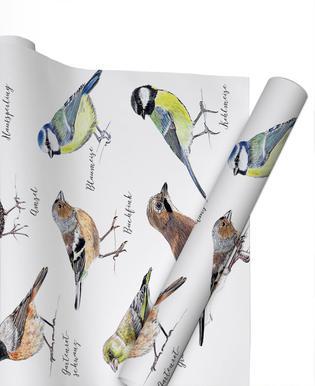 Plakat Vögel Gift Wrap