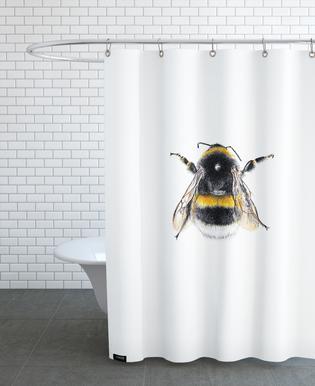 Bumblebee 01 Shower Curtain