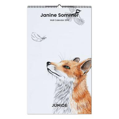 Janine Sommer 2019 Wall Calendar