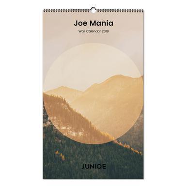 Joe Mania 2019 Wall Calendar