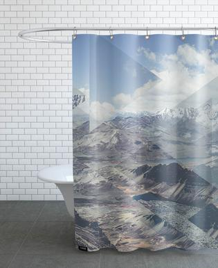 Scattered 2 Chacaltaya Shower Curtain