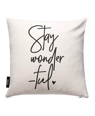 Stay Wonderful Cushion Cover