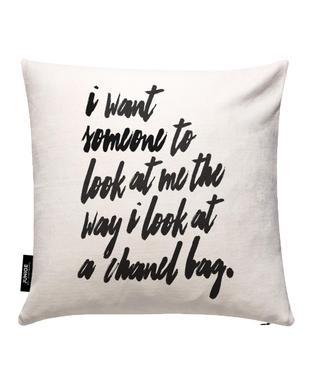 Chanel Bag Cushion Cover