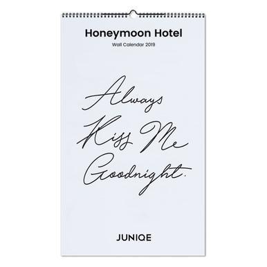 Honeymoon Hotel 2019 Wall Calendar