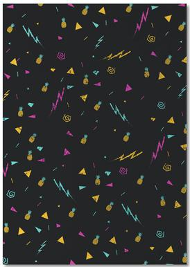 Magic Pineapple Notepad