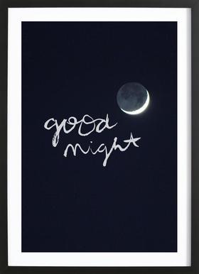 Goodnight Als Poster Door Dead Language Juniqe