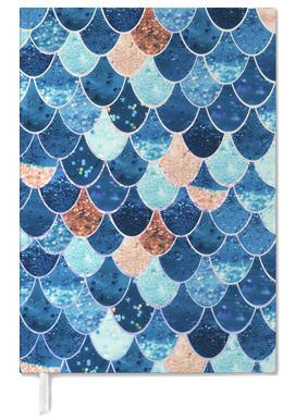 Mermaid Blue Personal Planner